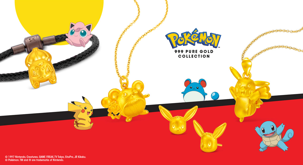 Supercharged Year Pokemon by SK Jewellery