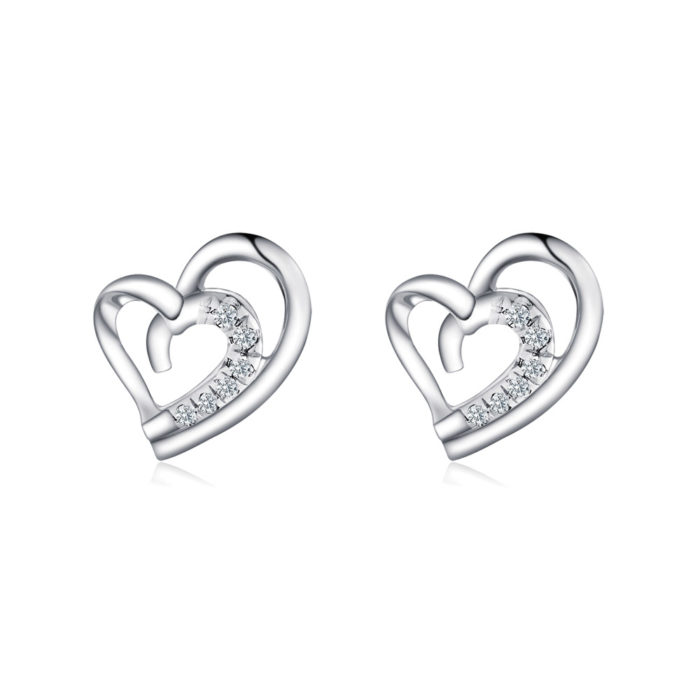 Be My Valentine Diamond Earrings