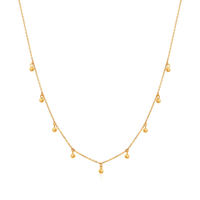 SK 916 Dance With Me Gold Necklace