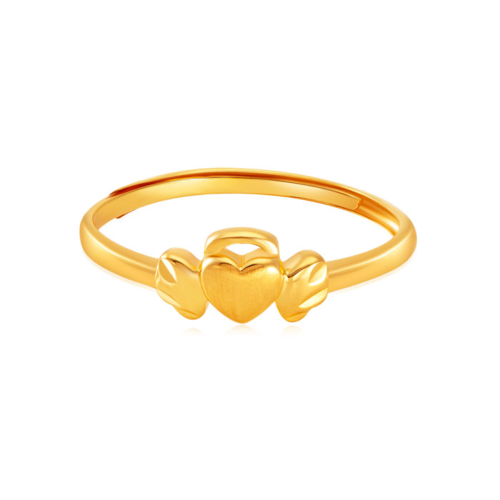 SK 916 Pure Angel Gold Ring