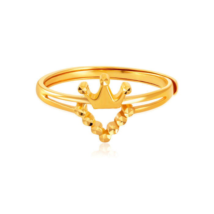 SK 916 My Only Princess Gold Ring