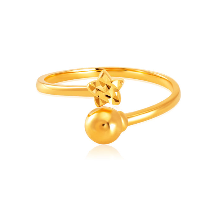 SK 916 Starlight Gold Ring