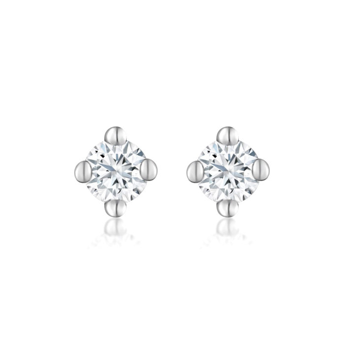 Baby's Breath Diamond Earrings