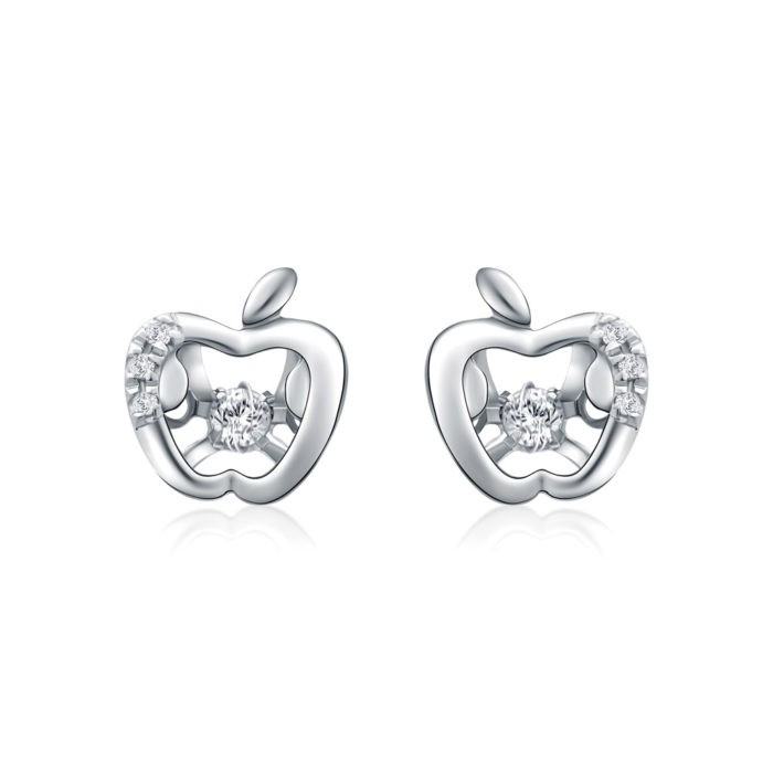 Apple of My Eye Diamond Earrings