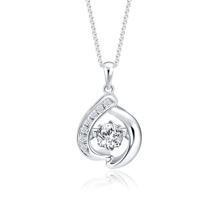 Promise My Love Diamond Pendant