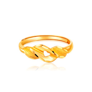 Trendy 5G Gold Ring