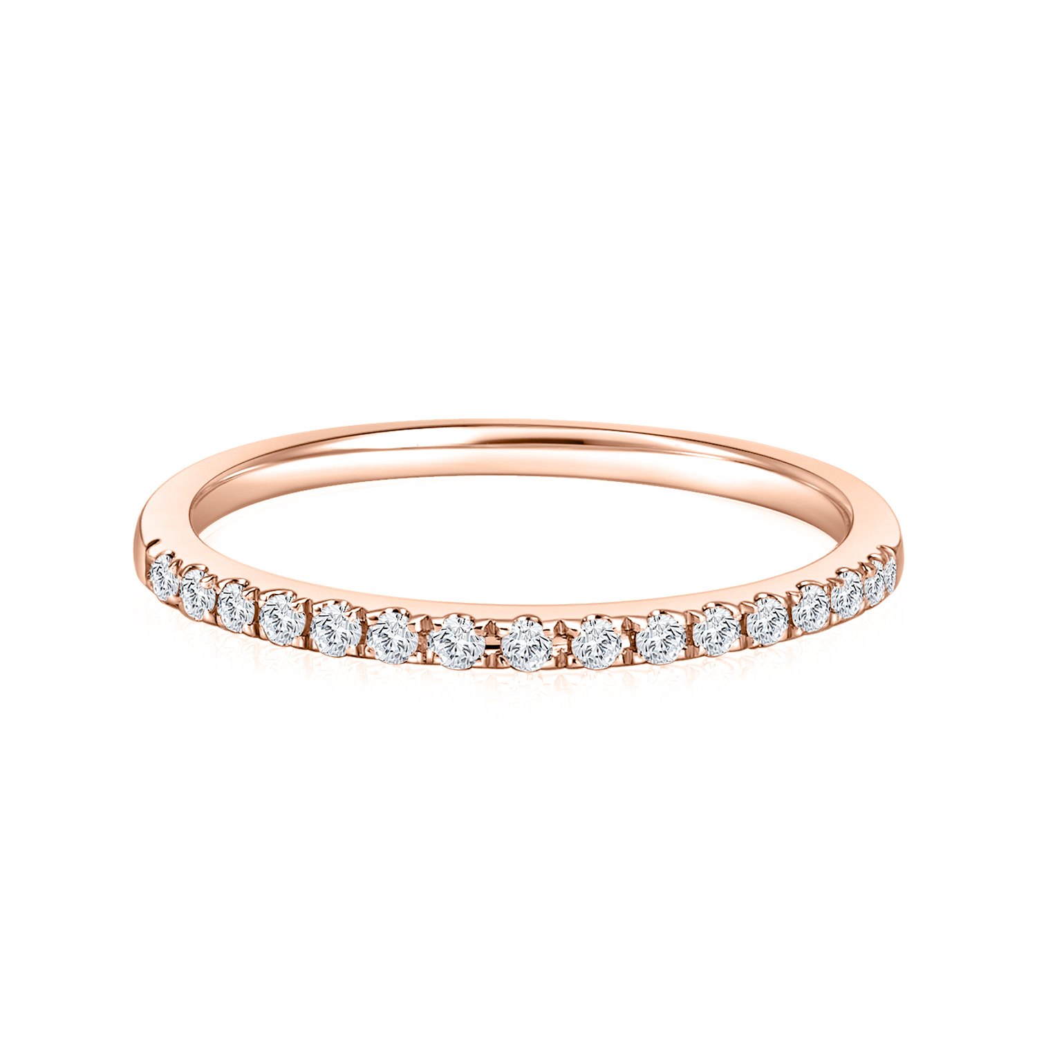 Starry Evon Rose Gold Diamond Ring