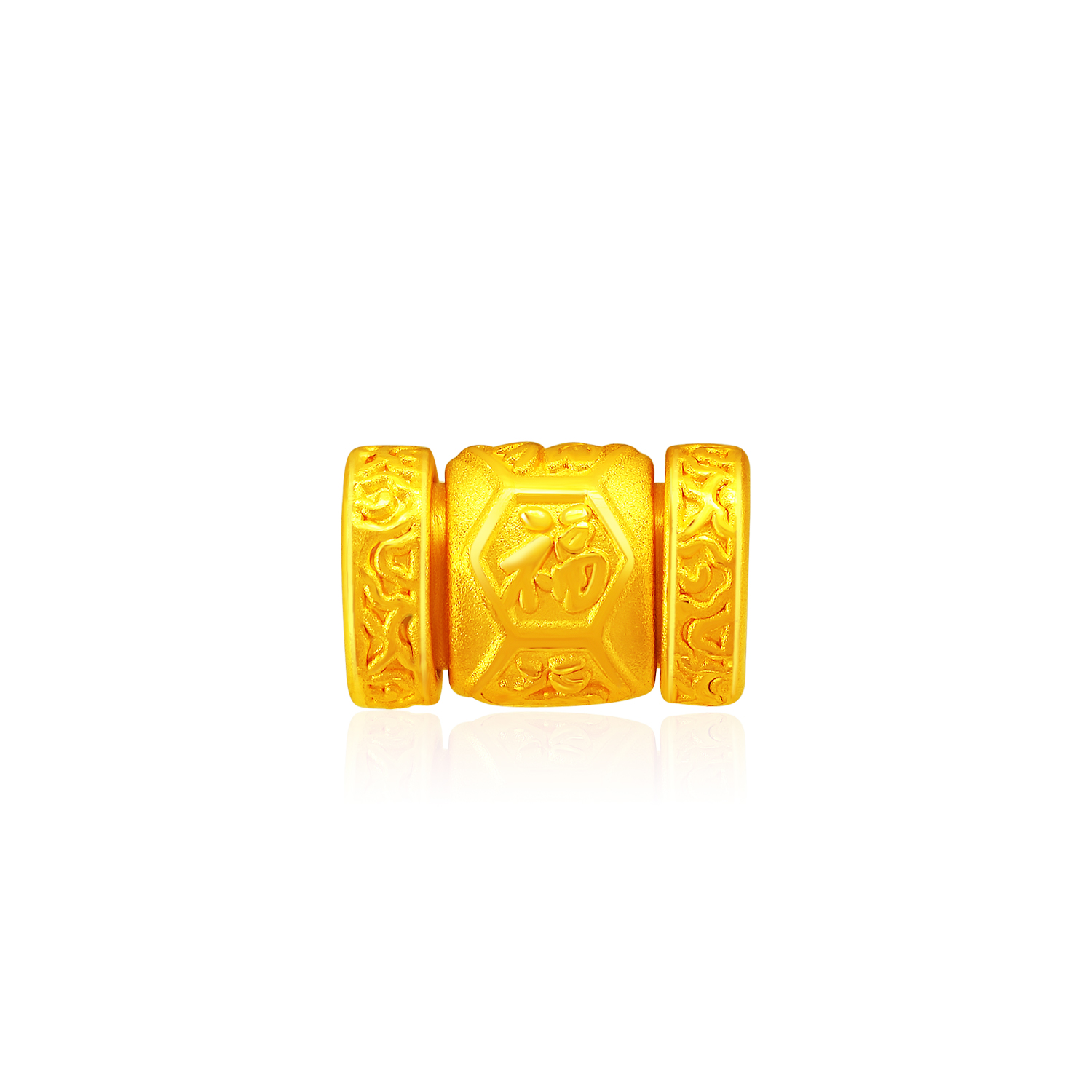 Fortune-Go-Round 999 Pure Gold Bracelet Charm