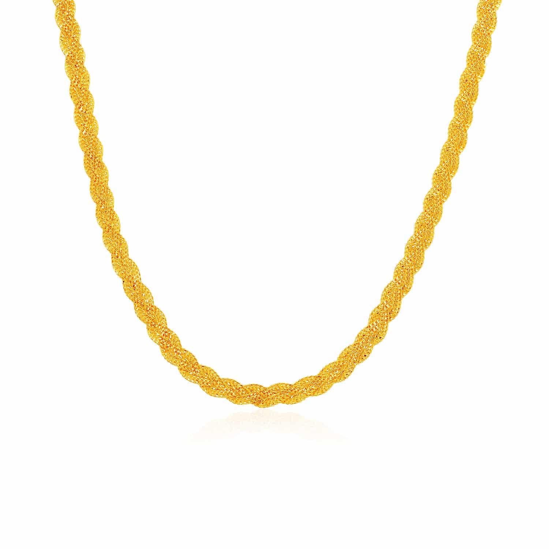 916 Gold Thick Cuban Chain