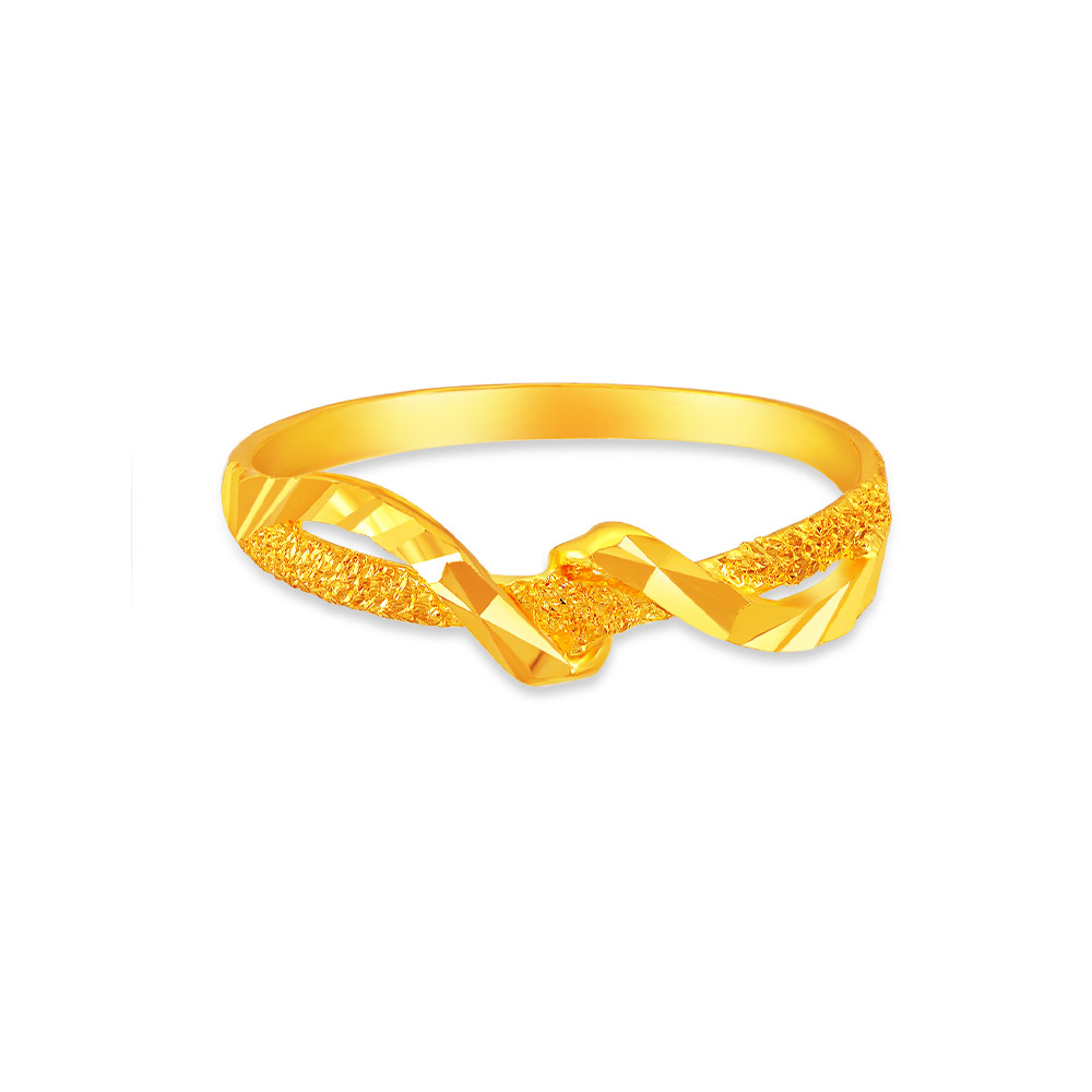 SK 916 Twist Accent RIng