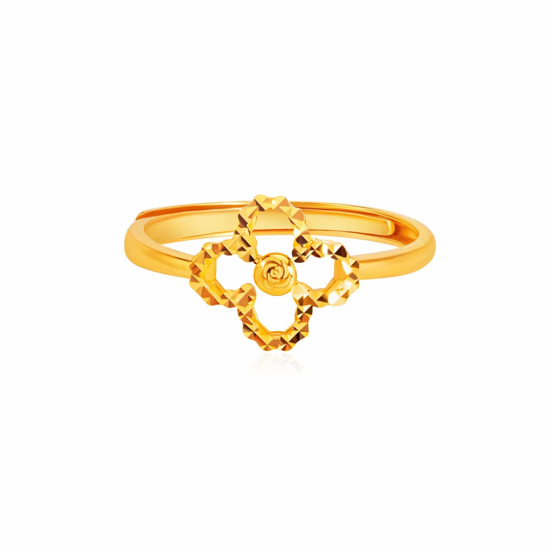 SK 916 Full of Luck Gold Ring