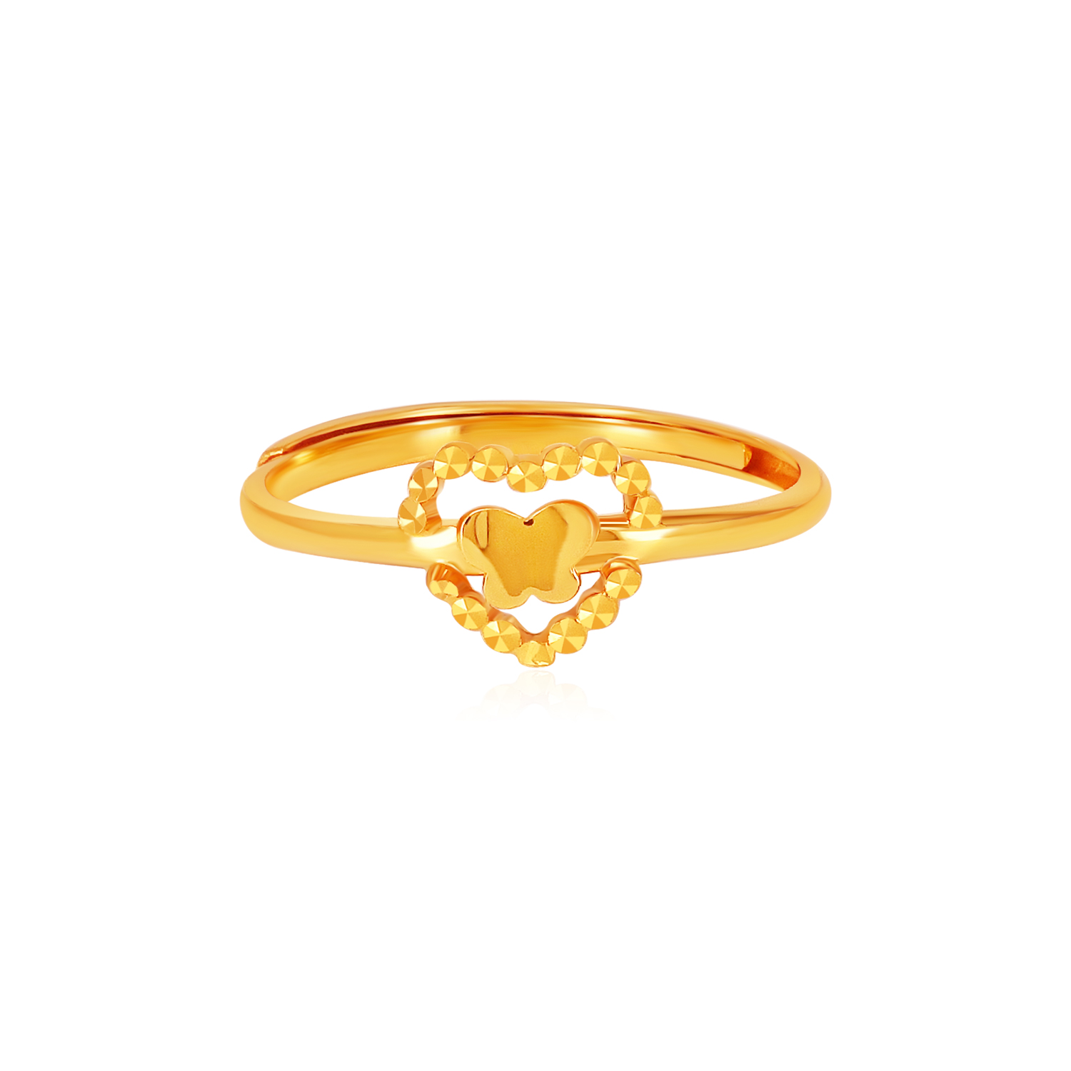 SK 916 Freedom to Love Gold Ring