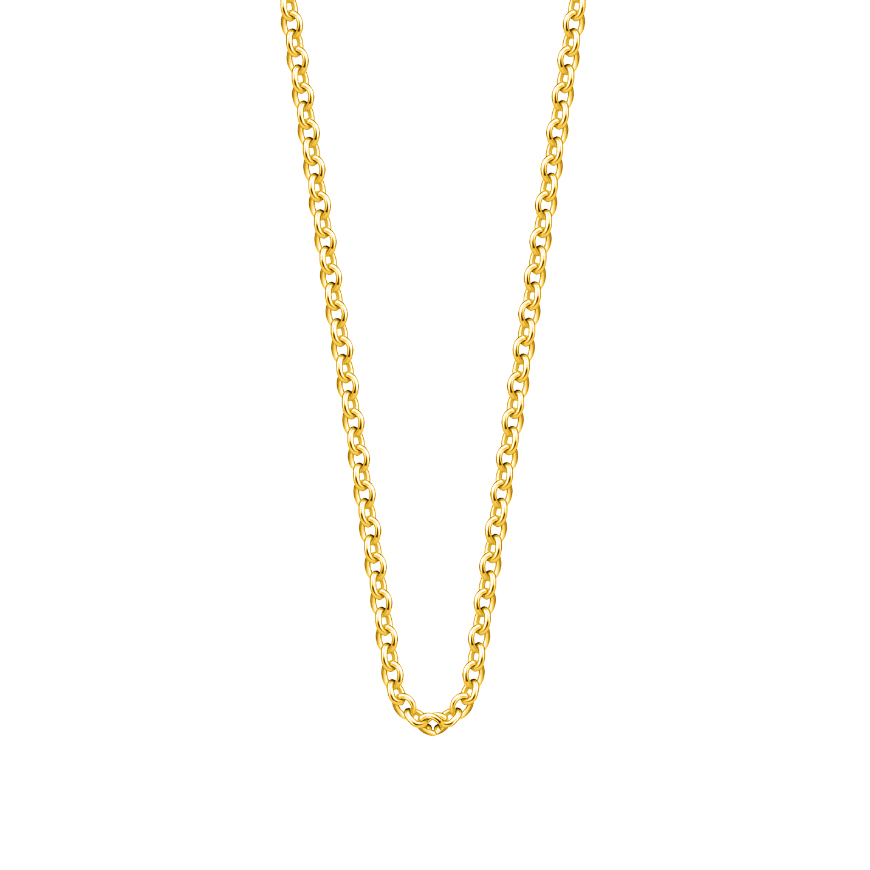 10K Yellow Gold Link Chain