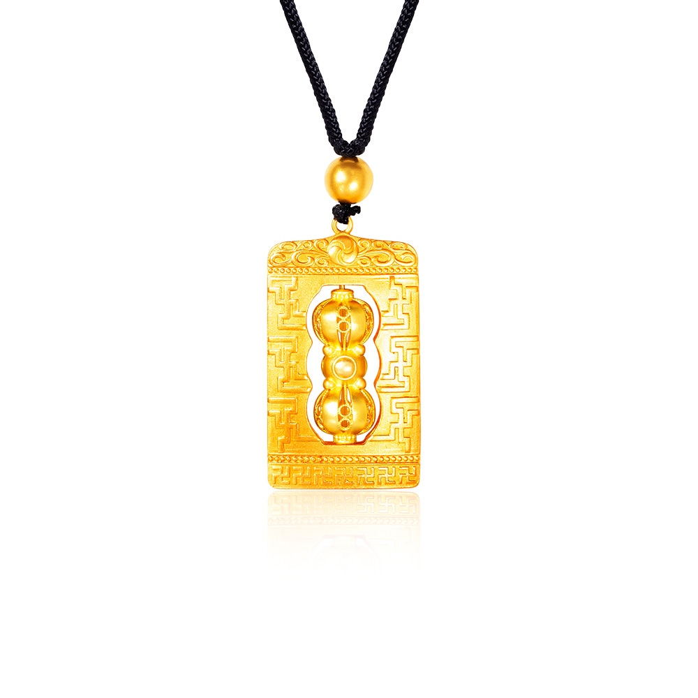 Gold Legacy Ancient Treasure 999 Pure Gold Necklace