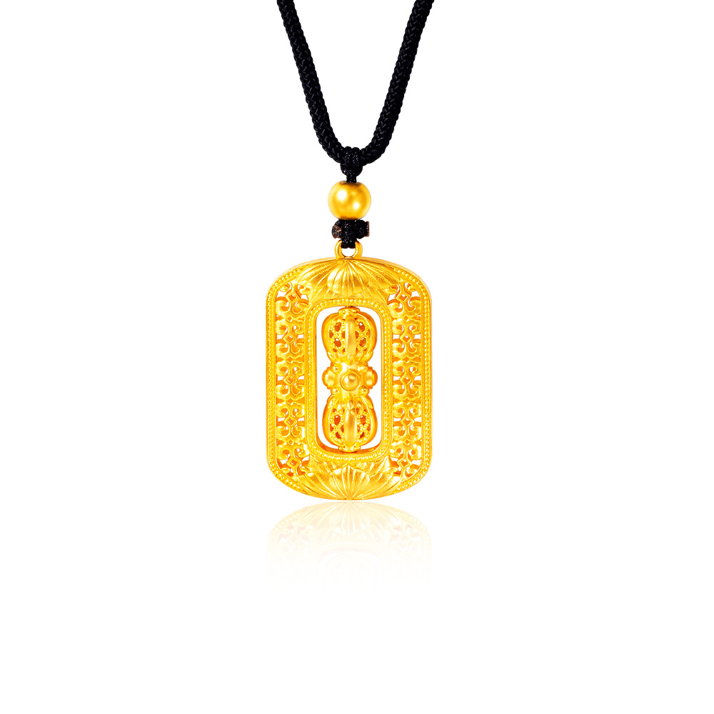 Gold Legacy Imperial Treasure 999 Pure Gold Necklace
