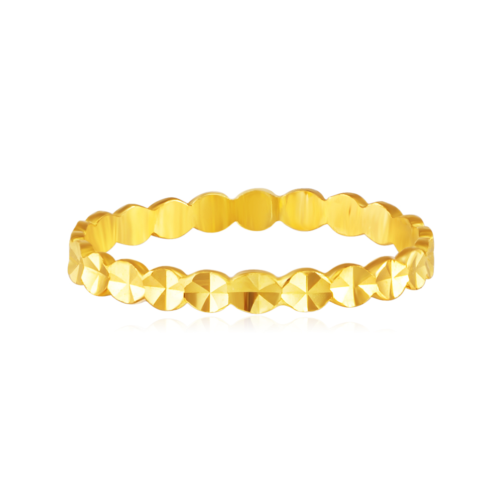 Roxy 999 Pure Gold Ring